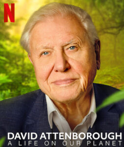David Attenborough: A Life On Our Planet environmental films poster