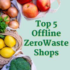 top 5 offline zero waste shops