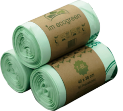compostable waste bags